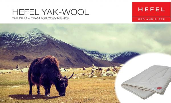 Pure YAK-Wool Winter Bettdecke